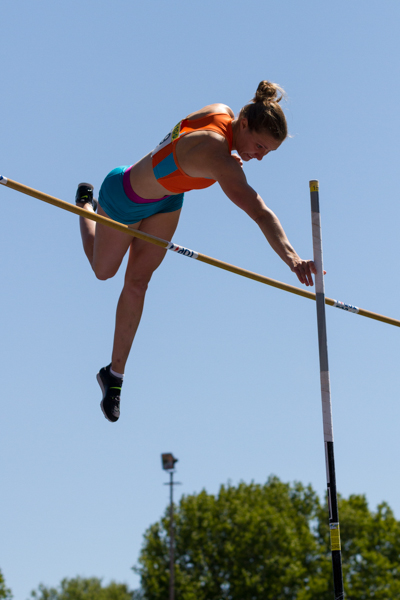 Athlete - Womens Pole Vault (Polsstokhoogspringen). Nederlands Kampioenschap Teams Senioren 2013