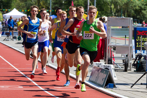 Athlete - Mens 800 m. Nederlands Kampioenschap Teams Senioren 2013