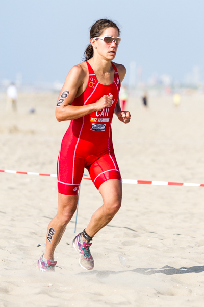 Chantell Widney (CA) - 3rd - ITU World Championships Cross Triathlon 2013.
